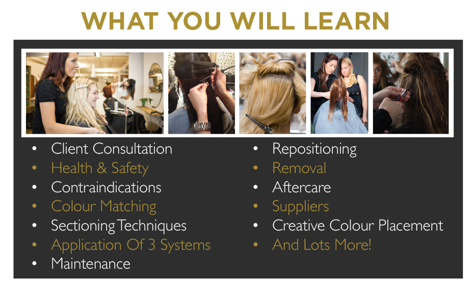 Hair extension courses training dates belle academy belle academy 3 method belle slide 1 pmusecretfo Images