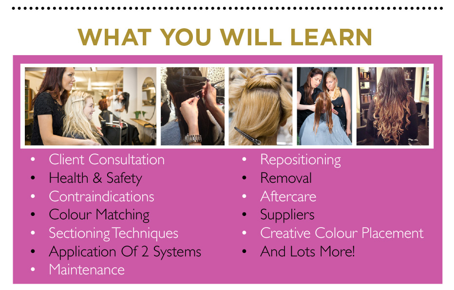Weave Hair Extension Training Courses 81